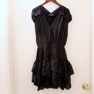 Dresses & Skirts - Charlotte Eskildsen Ruffle Black Dress